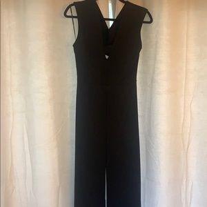 Lulu's black jumpsuit